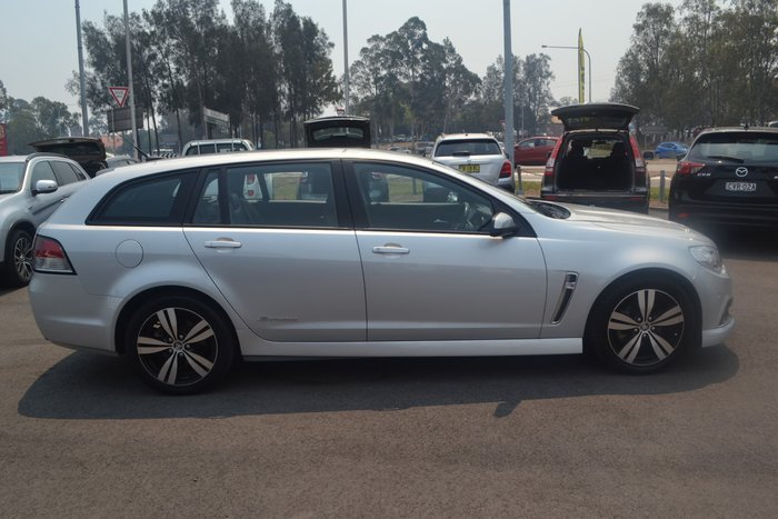 2014 Holden Commodore SV6 Storm VF MY14 Silver