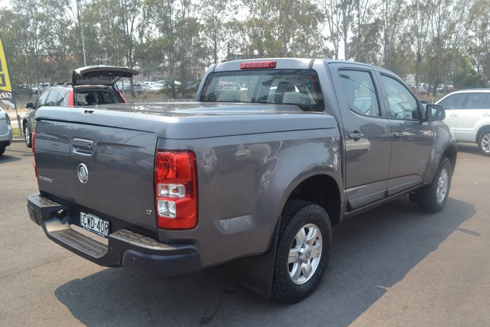 2014 Holden Colorado LT RG MY14 4X4 Dual Range Grey