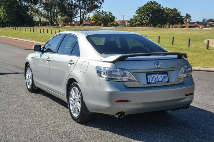 2010 Toyota Aurion Touring GSV40R MY10 Silver