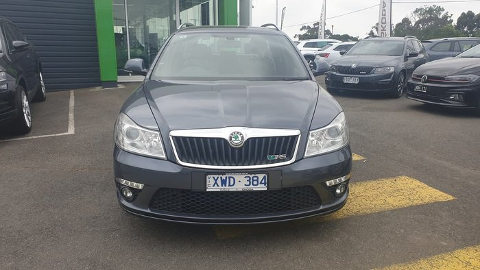 2010 SKODA Octavia RS 147TSI 1Z MY11 Grey