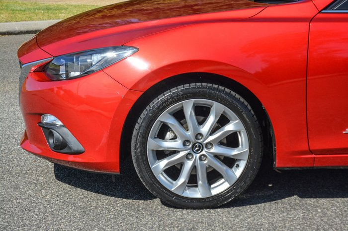 2014 Mazda 3 SP25 BM Series Red