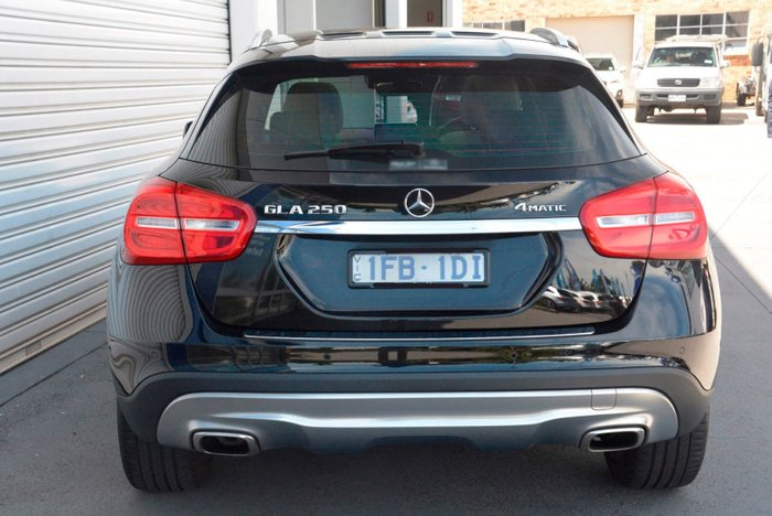 2015 Mercedes-Benz GLA-Class GLA250 X156 Four Wheel Drive Black