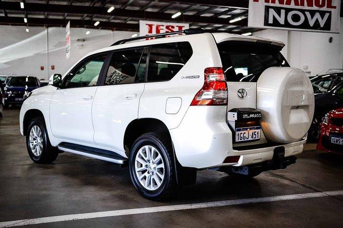 2017 Toyota Landcruiser Prado VX GDJ150R 4X4 Dual Range White