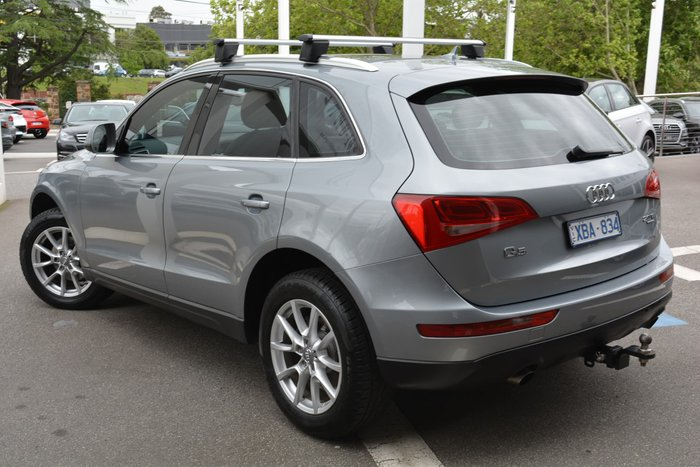 2009 Audi Q5 TFSI 8R Four Wheel Drive Grey