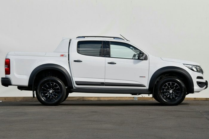 2019 Holden Colorado Z71 RG MY20 4X4 Dual Range SUMMIT WHITE