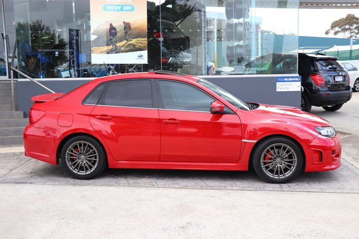 2011 Subaru Impreza WRX G3 MY11 Four Wheel Drive Red