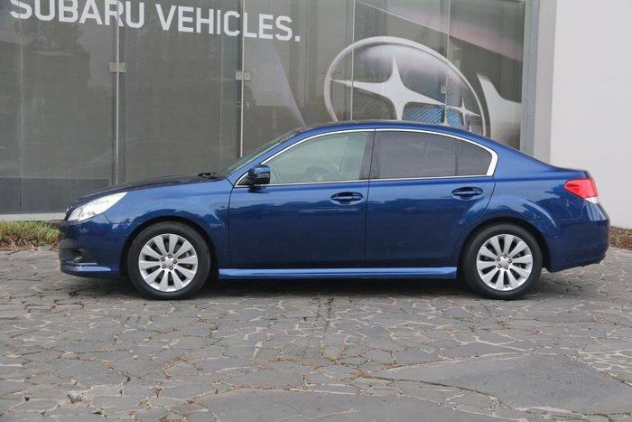 2012 Subaru Liberty 3.6R Premium 5GEN MY12 Four Wheel Drive Blue