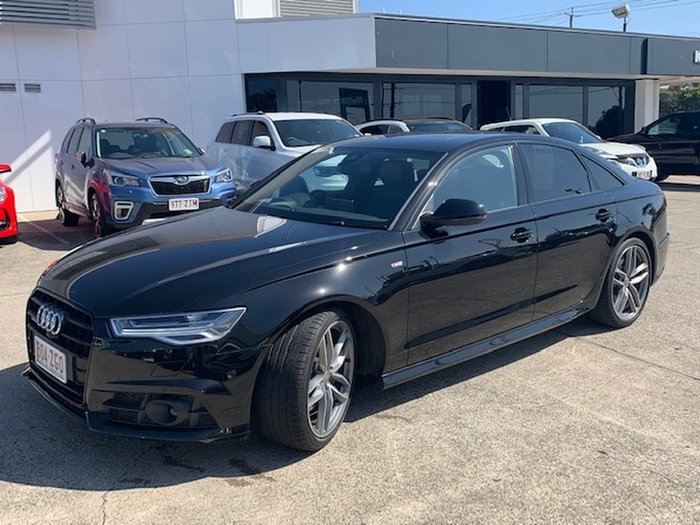 2017 Audi A6 Bi-Turbo C7 MY17 Four Wheel Drive Black