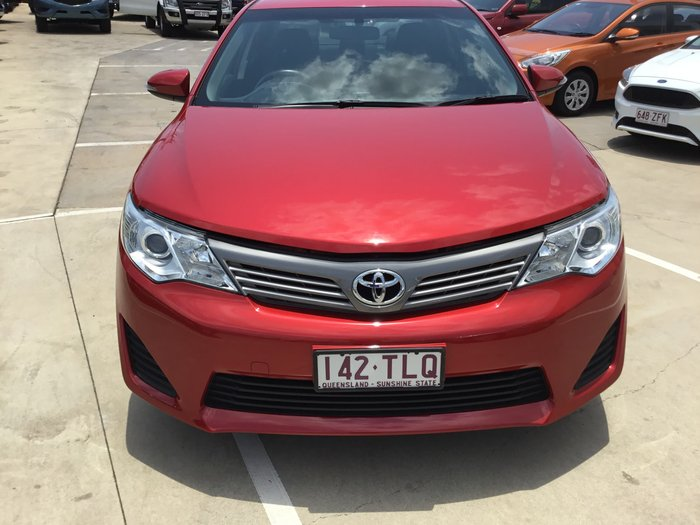 2013 Toyota Camry Altise ASV50R Red