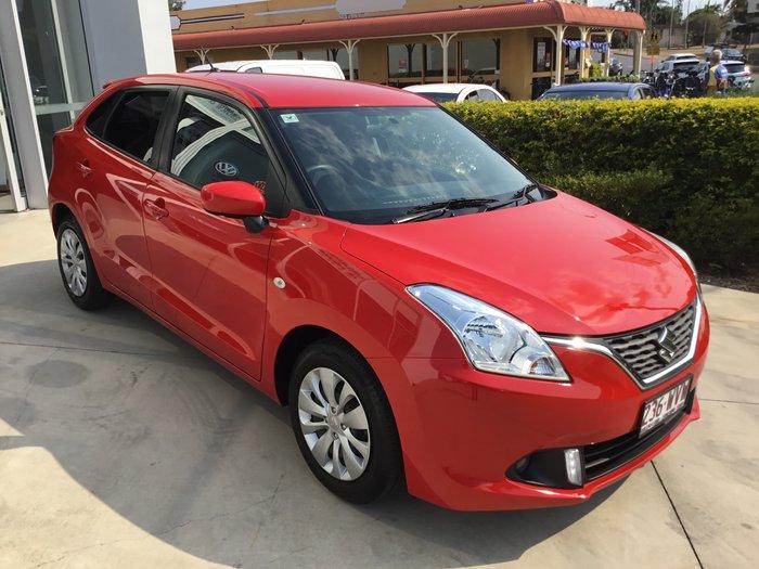 2016 Suzuki Baleno GL EW Red