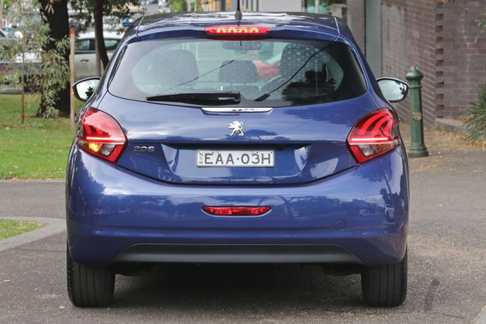 2018 Peugeot 208 Allure A9 MY18 Blue