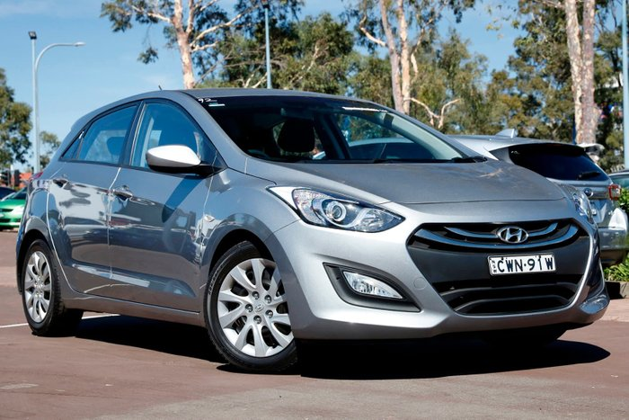 2014 Hyundai i30 Active GD2 MY14 Silver