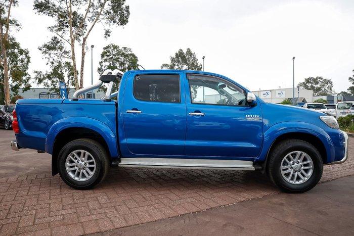 2015 Toyota Hilux SR5 KUN26R MY14 4X4 Dual Range Blue