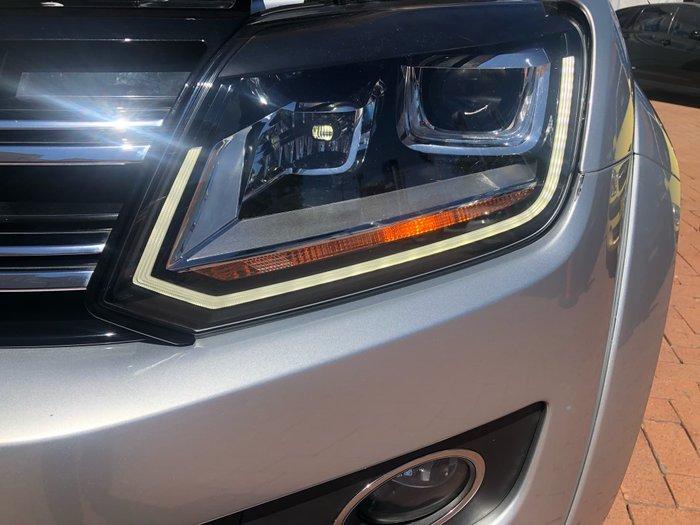 2016 Volkswagen Amarok TDI420 Ultimate 2H MY16 4X4 Constant Silver