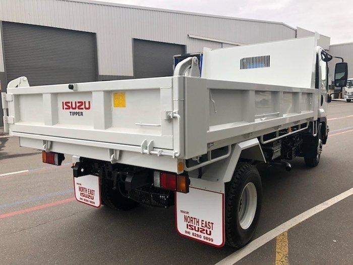2019 Isuzu FRR 107-210 FACTORY TIPPER White