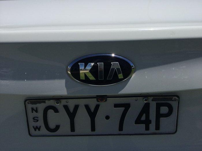 2015 Kia Cerato S YD MY15 White