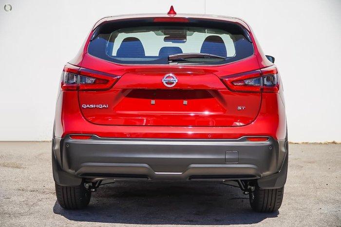 2019 Nissan QASHQAI ST+ J11 Series 2 Red