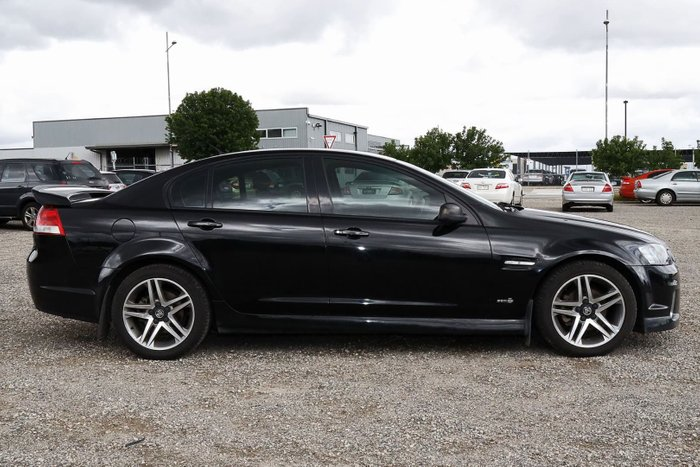 2012 Holden Commodore SV6 VE Series II MY12 Black