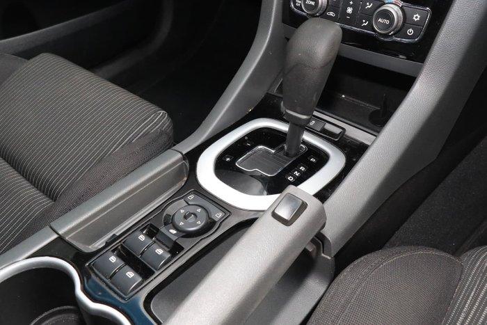 2012 Holden Commodore SV6 VE Series II MY12 Black