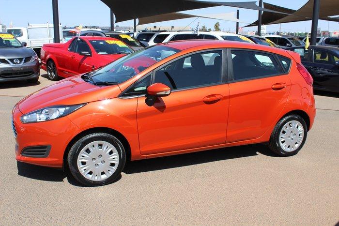 2016 Ford Fiesta Ambiente WZ Orange