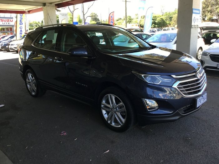2017 Holden Equinox LTZ EQ MY18 Four Wheel Drive BLUE STEEL