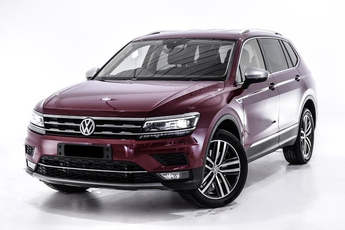 2018 Volkswagen Tiguan 140TDI Highline Allspace 5N MY18 Four Wheel Drive Red
