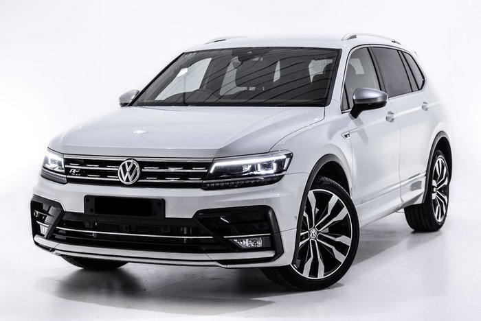 2018 Volkswagen Tiguan 162TSI Highline Allspace 5N MY18 Four Wheel Drive White