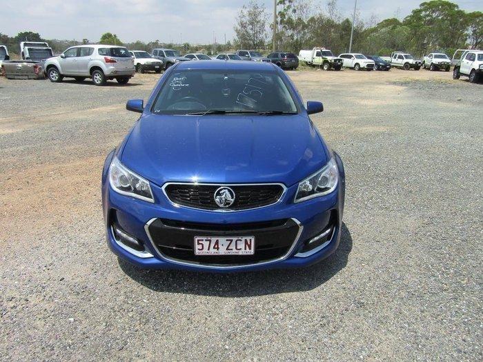 2016 Holden Ute SV6 VF Series II MY16 Blue