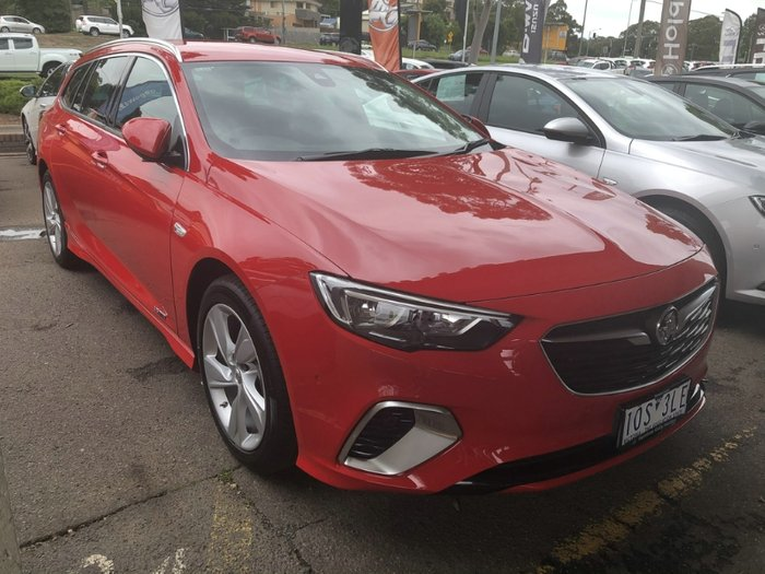 2018 Holden Commodore RS-V ZB MY18 4X4 On Demand ABSOLUTE RED