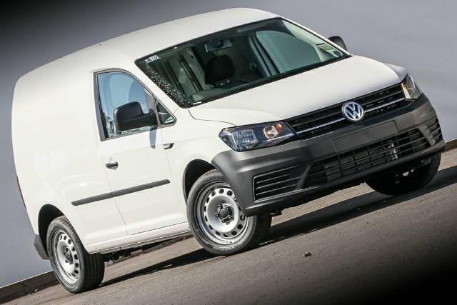 2019 Volkswagen Caddy TSI220 2KN MY20 CANDY WHITE