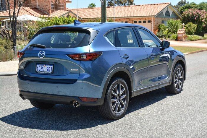 2018 Mazda CX-5 GT KF Series 4X4 On Demand Blue