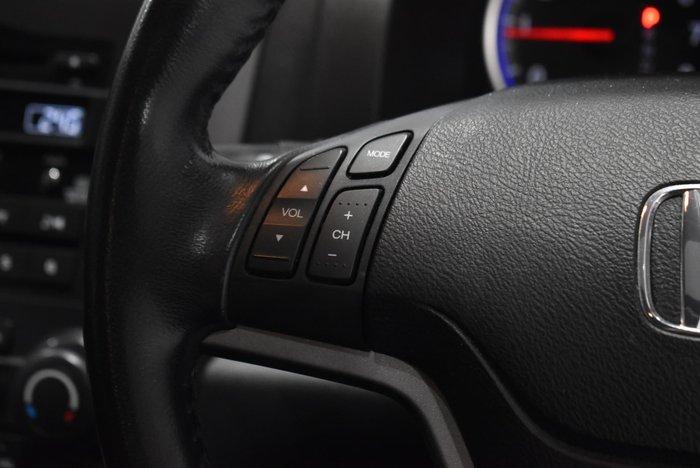 2012 Honda CR-V Luxury RE MY11 4X4 On Demand Silver