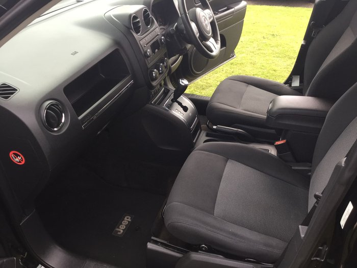 2012 Jeep Compass Sport MK MY12 Black
