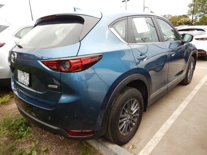 2018 Mazda CX-5 Maxx Sport KF Series 4X4 On Demand Blue