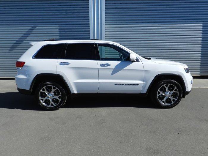 2019 Jeep Grand Cherokee Limited WK MY19 4X4 Dual Range White