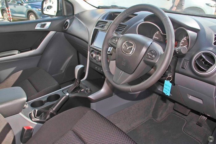 2019 Mazda BT-50 XTR UR 4X4 Dual Range Black