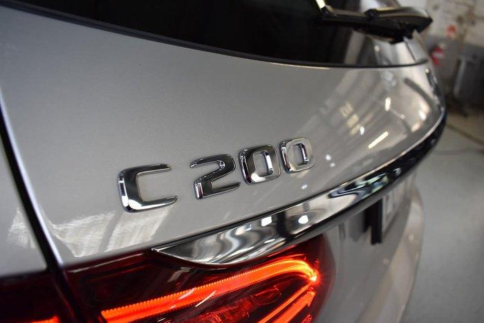 2018 Mercedes-Benz C-Class C200 S205 Silver