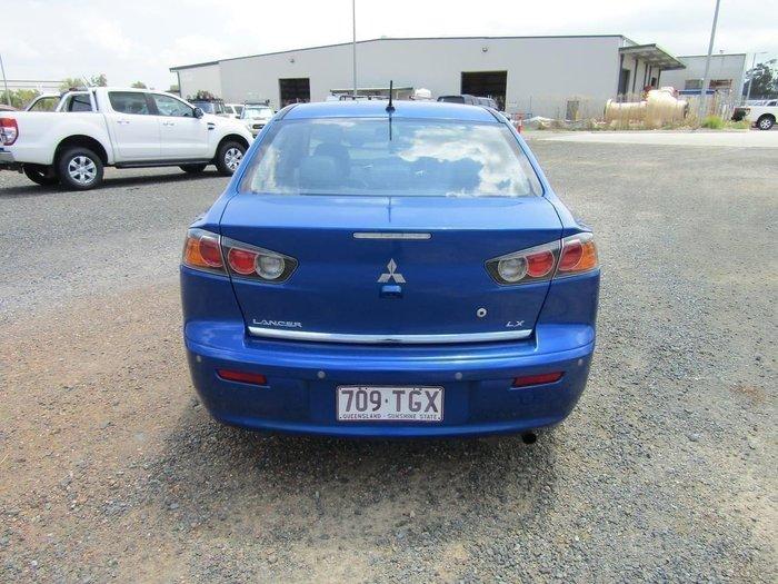 2013 Mitsubishi Lancer LX CJ MY14 Blue