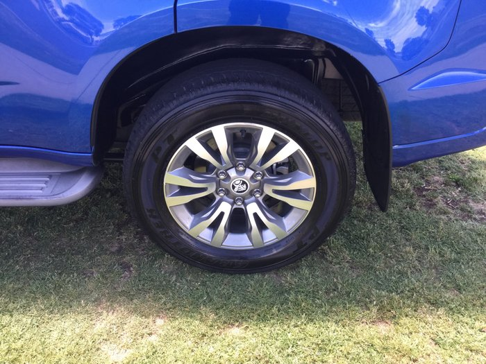 2017 Holden Trailblazer LTZ RG MY18 4X4 Dual Range Blue