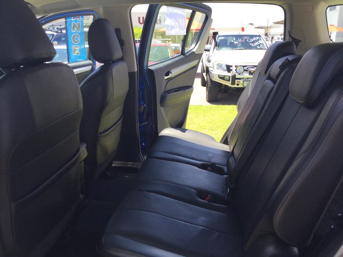 2017 Holden Trailblazer LTZ RG MY18 4X4 Dual Range Blue