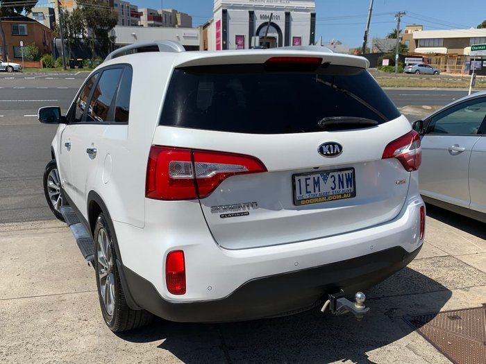 2013 Kia Sorento Platinum XM MY14 4X4 On Demand White