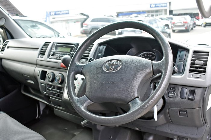 2013 Toyota Hiace KDH201R MY12 White
