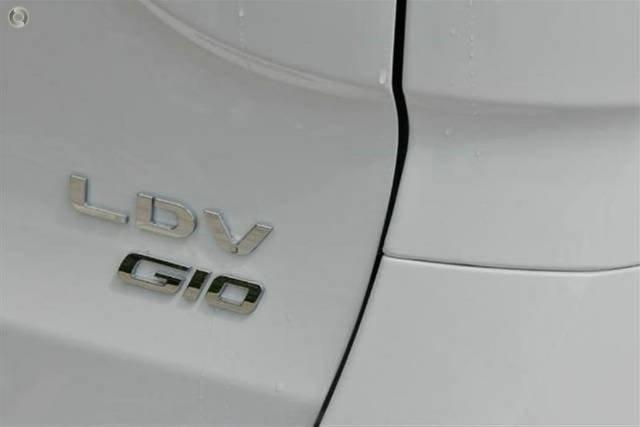 2019 LDV G10 SV7C BLANC WHITE