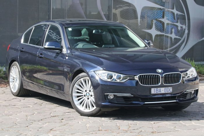 2013 BMW 3 Series 320i F30 MY14 Blue