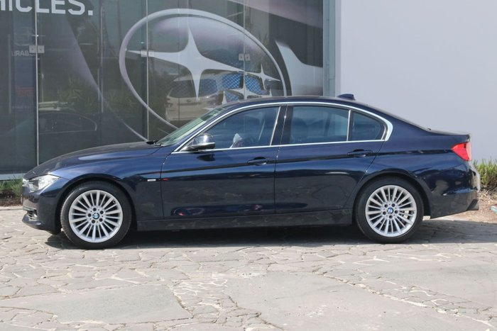 2013 BMW 3 Series 320i F30 MY14 Blue