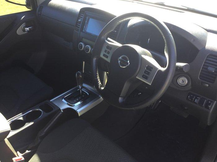 2011 Nissan Navara ST-X 550 D40 Series 6 4X4 Silver