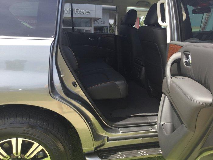 2019 Nissan Patrol Ti Y62 Series 5 MY20 4X4 Dual Range Grey