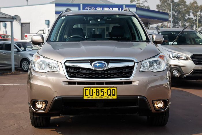 2015 Subaru Forester 2.5i-S S4 MY15 Four Wheel Drive Bronze