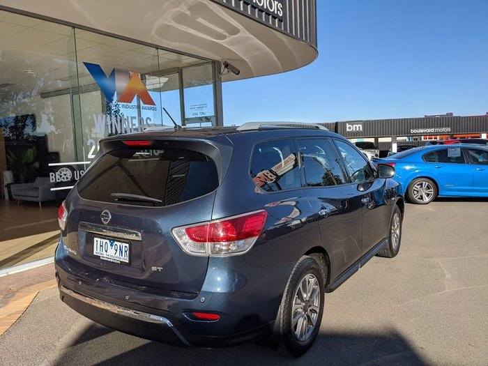 2016 Nissan Pathfinder ST R52 MY16 Blue