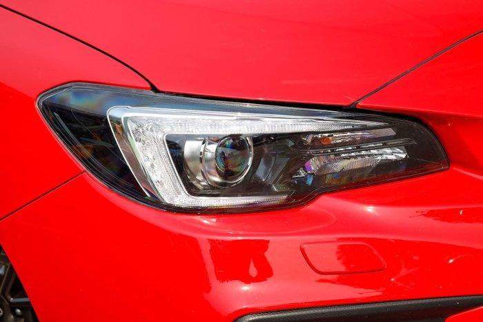 2019 Subaru WRX V1 MY19 Four Wheel Drive Red